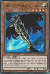 Evil HERO Adusted Gold, YuGiOh, Legendary Duelists: Immortal Destiny