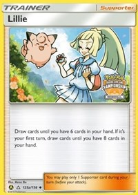 Lillie - 215a/156 (Regional Promo), Pokemon, League & Championship Cards