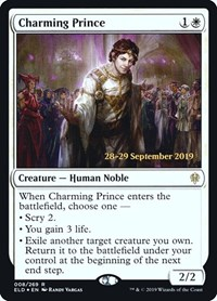 Charming Prince, Magic: The Gathering, Prerelease Cards