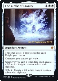 The Circle of Loyalty, Magic: The Gathering, Prerelease Cards