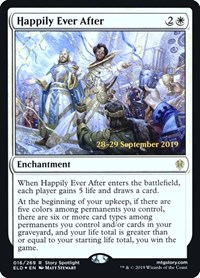 Happily Ever After, Magic: The Gathering, Prerelease Cards