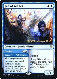 Fae of Wishes, Magic: The Gathering, Prerelease Cards