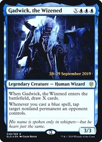 Gadwick, the Wizened, Magic: The Gathering, Prerelease Cards