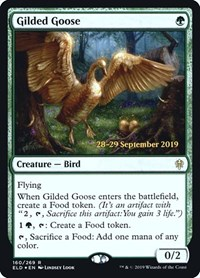 Gilded Goose, Magic: The Gathering, Prerelease Cards