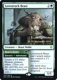 Lovestruck Beast, Magic: The Gathering, Prerelease Cards