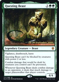 Questing Beast, Magic: The Gathering, Prerelease Cards