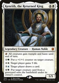 Kenrith, the Returned King, Magic: The Gathering, Throne of Eldraine
