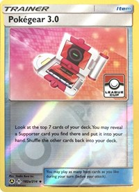 Pokegear 3.0 - 182a/214 (League Promo), Pokemon, League & Championship Cards