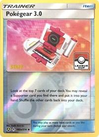 Pokegear 3.0 - 182a/214 (League Promo) [Staff], Pokemon, League & Championship Cards