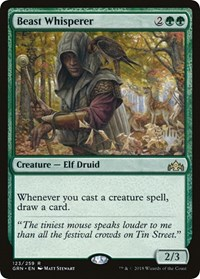 Beast Whisperer, Magic: The Gathering, Promo Pack: Throne of Eldraine