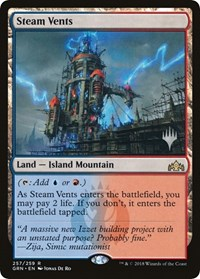 Steam Vents, Magic: The Gathering, Promo Pack: Throne of Eldraine