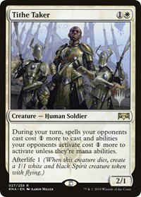 Tithe Taker, Magic: The Gathering, Promo Pack: Throne of Eldraine