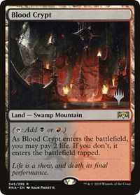 Blood Crypt, Magic: The Gathering, Promo Pack: Throne of Eldraine
