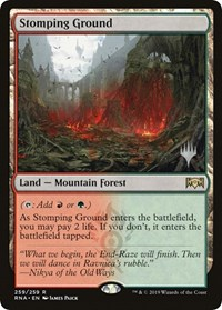 Stomping Ground, Magic: The Gathering, Promo Pack: Throne of Eldraine