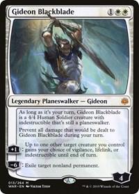 Gideon Blackblade (Foil)