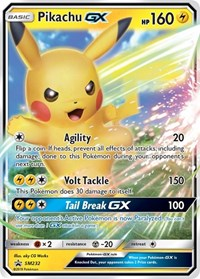 Pikachu GX - SM232, Pokemon, SM Promos