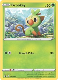 Grookey - SWSH001, Pokemon, SWSH: Sword & Shield Promo Cards