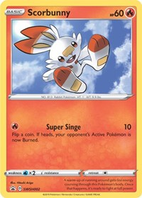 Scorbunny - SWSH002, Pokemon, SWSH: Sword & Shield Promo Cards