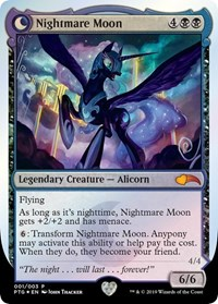 Nightmare Moon // Princess Luna (Foil)