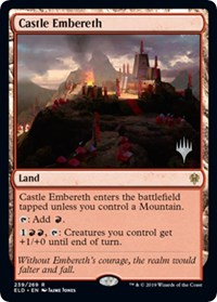 Castle Embereth, Magic: The Gathering, Promo Pack: Throne of Eldraine
