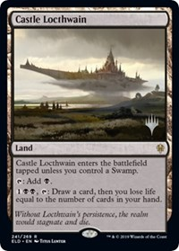 Castle Locthwain, Magic: The Gathering, Promo Pack: Throne of Eldraine