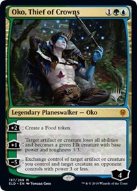 Oko, Thief of Crowns, Magic: The Gathering, Promo Pack: Throne of Eldraine