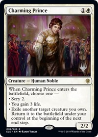 Charming Prince, Magic: The Gathering, Promo Pack: Throne of Eldraine