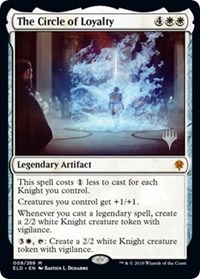 The Circle of Loyalty, Magic: The Gathering, Promo Pack: Throne of Eldraine
