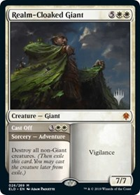 Realm-Cloaked Giant, Magic: The Gathering, Promo Pack: Throne of Eldraine