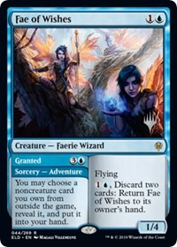 Fae of Wishes, Magic: The Gathering, Promo Pack: Throne of Eldraine