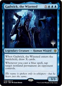 Gadwick, the Wizened, Magic: The Gathering, Promo Pack: Throne of Eldraine