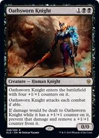 Oathsworn Knight, Magic: The Gathering, Promo Pack: Throne of Eldraine