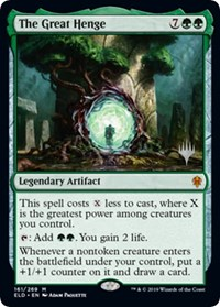 The Great Henge, Magic: The Gathering, Promo Pack: Throne of Eldraine