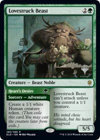 Lovestruck Beast, Magic: The Gathering, Promo Pack: Throne of Eldraine