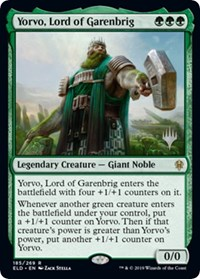 Yorvo, Lord of Garenbrig, Magic: The Gathering, Promo Pack: Throne of Eldraine