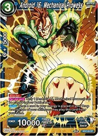 Android 16, Mechanical Prowess, Dragon Ball Super CCG, Malicious Machinations