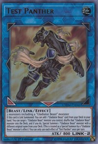 Test Panther, YuGiOh, Chaos Impact