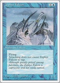 Zephyr Falcon, Magic: The Gathering, Fourth Edition