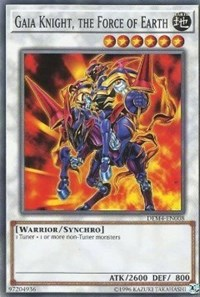 Gaia Knight, the Force of Earth, YuGiOh, Advanced Demo Deck Extra Pack
