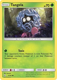 Tangela, Pokemon, SM - Cosmic Eclipse