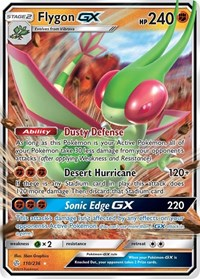 Flygon GX, Pokemon, SM - Cosmic Eclipse