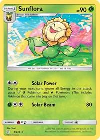 Sunflora, Pokemon, SM - Cosmic Eclipse