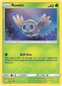 Rowlet - 18/236, Pokemon, SM - Cosmic Eclipse