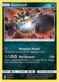 Guzzlord, Pokemon, SM - Cosmic Eclipse