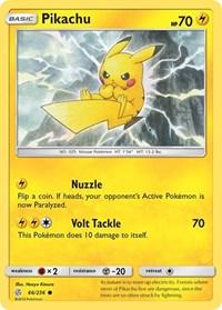 Pikachu, Pokemon, SM - Cosmic Eclipse