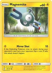 Magnemite, Pokemon, SM - Cosmic Eclipse