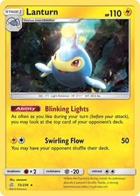Lanturn, Pokemon, SM - Cosmic Eclipse