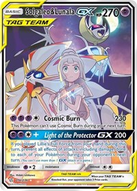 Solgaleo & Lunala GX (Full Art), Pokemon, SM - Cosmic Eclipse