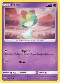 Ralts, Pokemon, SM - Cosmic Eclipse