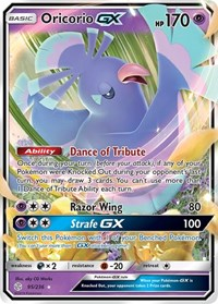 Oricorio GX, Pokemon, SM - Cosmic Eclipse